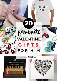 20 favorite valentine gifts for him