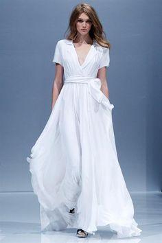 Купить белое воздушное платье