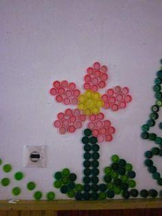 Bottle cap - flower