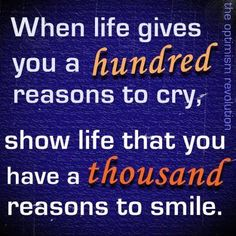 A thousand reasons to smile!