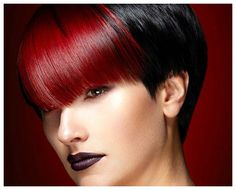 Hair Color Ideas Red And Black | Hairstyles for Women