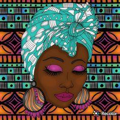 Black Girl Art, Black Art, Art Girl, African American Art, African Art, Black Picture, Afro Art, Arte Pop, Dope Art