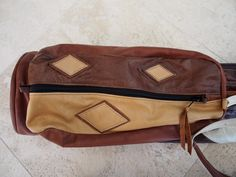 8ce3b56f2c Custom Argyle Mackenzie Walker Leather Golf Bag