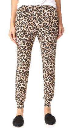 GENERATION LOVE Piper Leopard Sweatpants. #generationlove #cloth #dress #top #shirt #sweater #skirt #beachwear #activewear