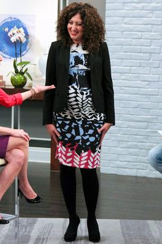 Belly Maternity Fashion Show: Office Look