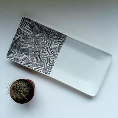 Air dry clay handmade trays Ceramics - Porcelain - Home Decor - Home Design - Pottery - Jewelry Dish - Jewelry Tray