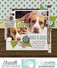 1250 best images about Dog Scrapbooking Dog Scrapbook Layouts, Scrapbook Journal, Scrapbook Sketches, Scrapbook Paper Crafts, Scrapbook Albums, Scrapbook Cards, Scrapbooking Ideas, Ppr, Mini Books
