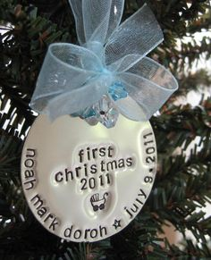 YES, Baby's first Christmas ornament. Maybe one for the tree and one for her to keep??