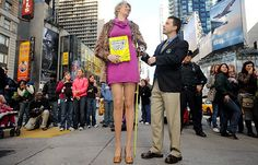 f anyone deserves to be a Rockette, it's this woman! RussianSvetlana Pankratova has, according to Guinness World Records, the longest legs of any woman in the world.