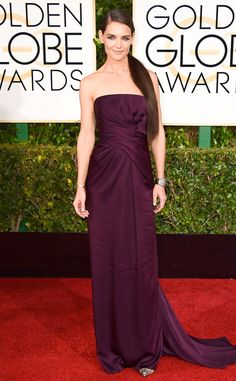 Get the Look: Katie Holmes at the 2015 Golden Globes