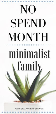 No Spend Month - When we started decluttering my biggest fear was introducing more clutter into our home! If you go through all of the work to clean everything out you don't want to add more in. I realized I needed to be extremely intentional with the purchases I am making. Some people go on a no spend year, but I am trying some no spend months throughout the year. #money #nospend #minimalism #intentionalliving #simpleliving