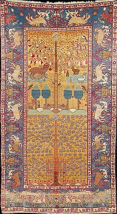 Persian Tabriz rugMore Pins Like This At FOSTERGINGER @ Pinterest