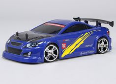 For those of you looking for the ultimate 1/16 drift platform, the TR-V7 is here!     With features such as a full carbon fiber chassis, beautifully finished body, brushless power system, shaft driven 4WD, alloy shocks, fully adjustable suspension and hard compound drift tires, the TR-V7 will be sure to please!    The TR-V7 offers many tuning options such as adjustable camber & castor, shock mounting positions and spring tension. This allows you to dial in your handling for any course!