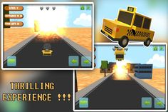 JUMP CAR 3D: Drive your car through the streets and become the no 1 car racer. #android games for kids #children #free #game #racing #3D
