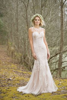 Lillian West 6464 - The Blushing Bride boutique in Frisco, Texas