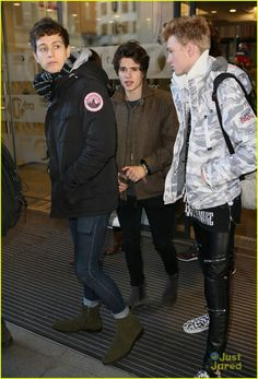The Vamps Reveal Movie Plans For 2016 at CapitalFM Jingle Bell Ball: Photo #903613. The Vamps pose outside the BBC Radio studios after stopping by BBC Breakfast in London on Wednesday morning (December 9). The guys — Brad Simpson, James McVey,…