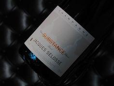 "Champagne Blanc de Blancs Grand Cru ""Substance"" Domaine Jacques Selosse #champagne #grandcru"