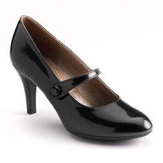 High Heel Mary Janes