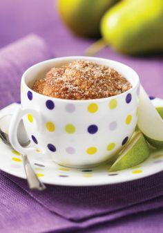 Cinnamon Sugar Muffin in a Mug | Mama Likes To Cook