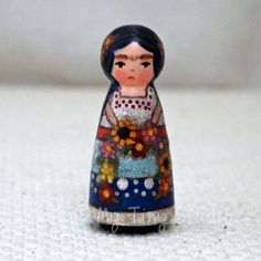 Frida Peg Doll