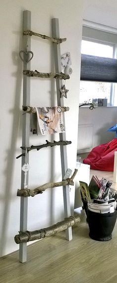 Top tip plankjes van de action en houten staanders van de for Decoratie ladder action