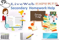 #Live_Web_Experts is a new academic portal that is known for providing with high end online #Secondary_homework_help to the students. They can get the #best_quality_for_students.  Visit Here https://www.livewebexperts.com/homework-help  For Android Application Users https://play.google.com/store/apps/details?id=gkg.pro.lwe.clients&h