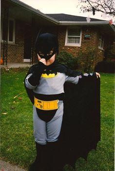 Batman, not just a super hero but a billionaire. dream big little girl.