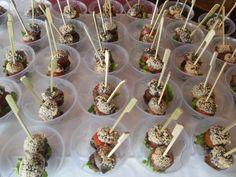 Mini Burger - Buffet L'Acciuga nel Bosco 4° Cimento di Primavera