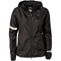 Nike Vapor Jacket W ($150) ❤ liked on Polyvore featuring jackets, tops, outerwear, bombers, coats & jackets, sports fashion and nike