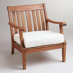 St. Martin Occasional Chair with Cushion | World Market