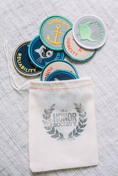 The Honor Society Merit Badges | Smitten for the Wee Generation