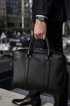 The BOSS Signature bag, designed for the modern man on the move…
