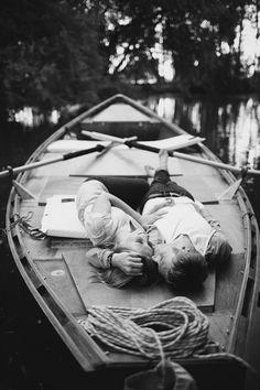 Le bateau, vu comme cela, ça ne manque pas de charme ….