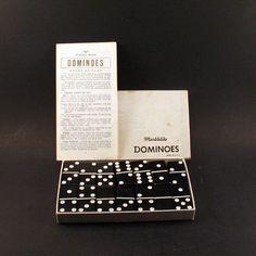 Vintage Standard Marblelike Dominoes   No 616  by ChompMonster, $50.00