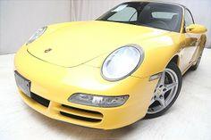 #Yellow 2005 Porsche 911 Carrera