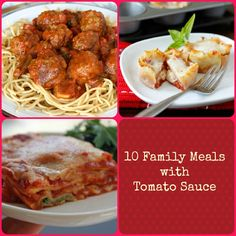 10 Simple Family Dinners Made with Tomato Sauce