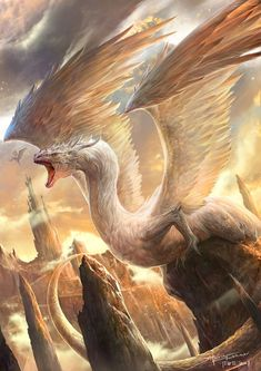 fantasy-art-engine:Dragon Bird by The Rafa Featured on Cyrail: Inspiring artworks that make your day better
