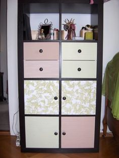 IKEA Hackers: Expedit bookcase cover up you can buy the drawer and cupboard inserts from ikea.