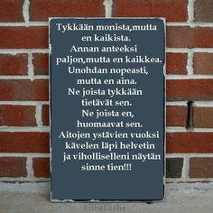 Ystävä Letter Board, Lettering, Sayings, My Love, Words, Quotes, Quotations, Lyrics, Drawing Letters