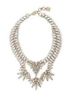 bcbg Metallic Stone Statement Necklace #womens #statement #necklace #wantering