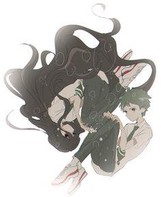 Hajime and Izuru