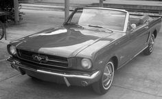 1964-1/2 Ford Mustang Instrument Test from Car and Driver