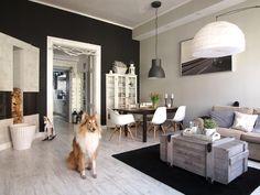 65-metrowe mieszkanie w pięknej kamienicy w Gliwicach. Kasia i Wojtek dostali je w prezencie ślubnym - Dom