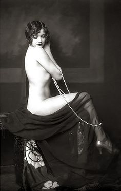 Alfred Cheney Johnston, Ziegfeld Model.