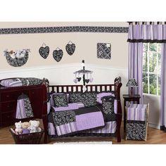 Sweet Jojo Designs Kaylee 9-piece Crib Bedding Set