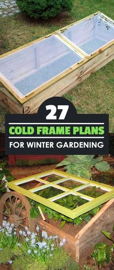 As we move into winter, many of us sigh and give up on gardening. Don't! With these cold frame plans, you can extend the growing season easily.