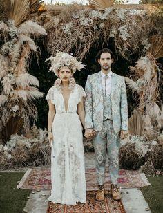 Wedding Trends, Trendy Wedding, Boho Wedding, Wedding Styles, Wedding Ceremony, Dream Wedding, Wedding Day, Garden Wedding, Wedding Groom