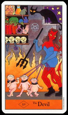 The Halloween Tarot U.S. Games Systems, Inc 1996