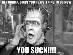 Tell it Herman Munster!!!!