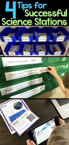 How do you set up and run successful science stations in an elementary classroom? Keeping students on task and learning content is hard, but here are four tips that will make your elementary science stations run smoothly.